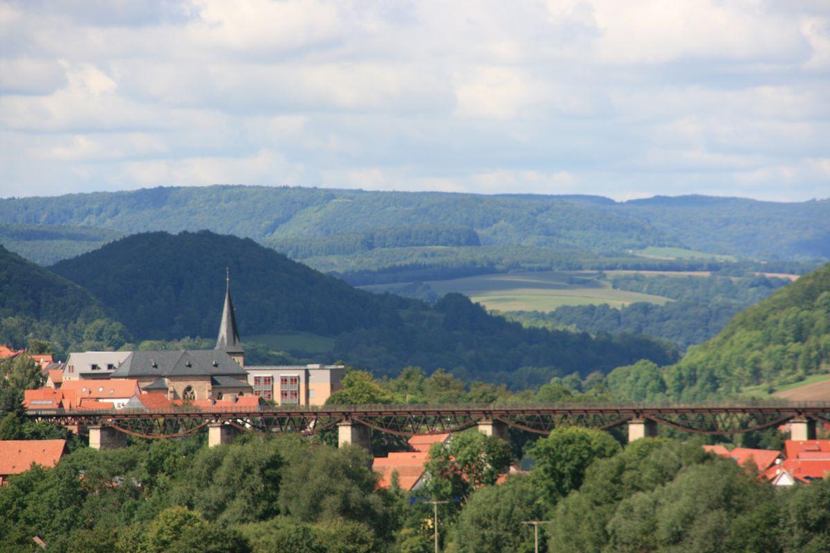 Draisine in Lengenfeld unterm Stein (10)