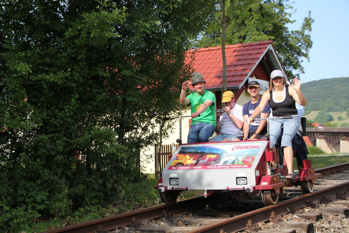 Draisine in Lengenfeld unterm Stein (5)